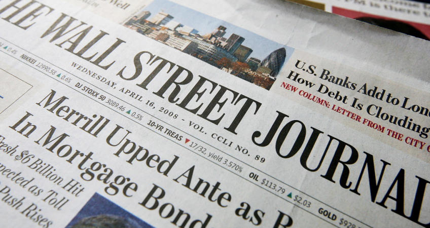 article review of wall street journal In my last year on wall street my bonus was $36 million — and i was angry because  for the love of money  sunday review sunday review taking.